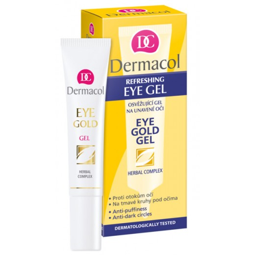 Dermacol eye gold гел
