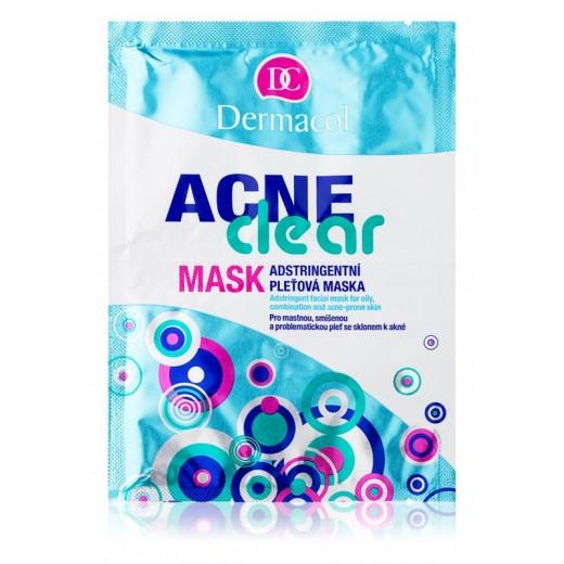 Dermacol Acneclear маска за лице за проблемна кожа, акне