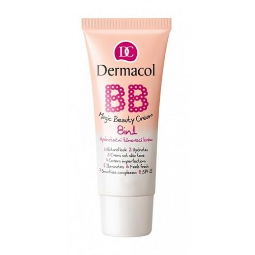 Dermacol BB Magic Beauty тониращ овлажнител 8 в 1