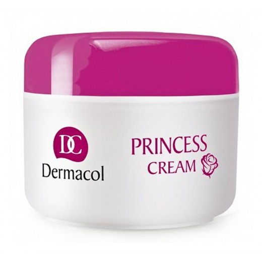 Dermacol Dry Skin Program Princess Cream подхранващ хидратиращ дневен крем с екстракт от водорасли