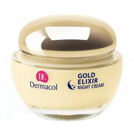 Dermacol Gold Elixir нощен подмладяващ крем с хайвер