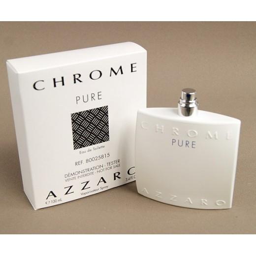 Azzaro Chrome Pure тоалетна вода за мъже 100 мл. - Тестер