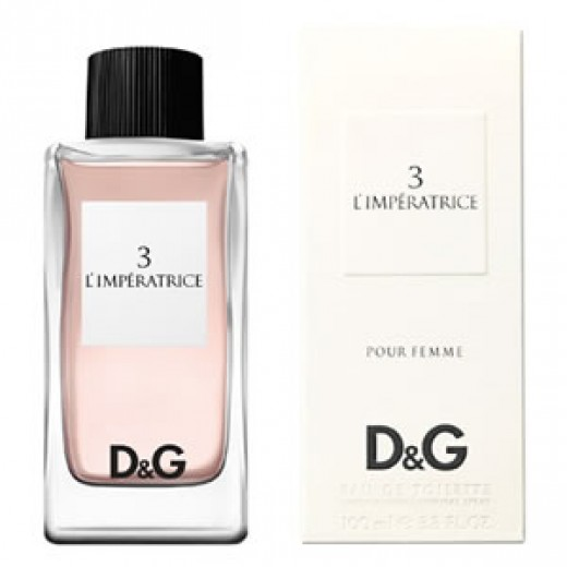 Dolce & Gabbana D&G Anthology L´Imperatrice 3 тоалетна вода за жени Тестер 100мл